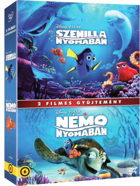 Némó és Szenilla nyomában gyűjtemény (2 DVD)