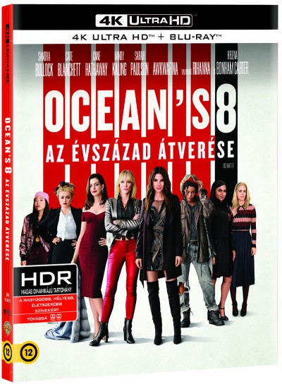 Ocean's 8: Az évszázad átverése - 4K UHD - Blu-ray