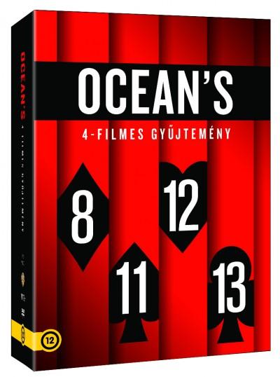 Ocean's gyűjtemény - 4 DVD -  pdf epub