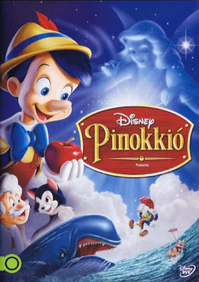 Pinokkió - DVD
