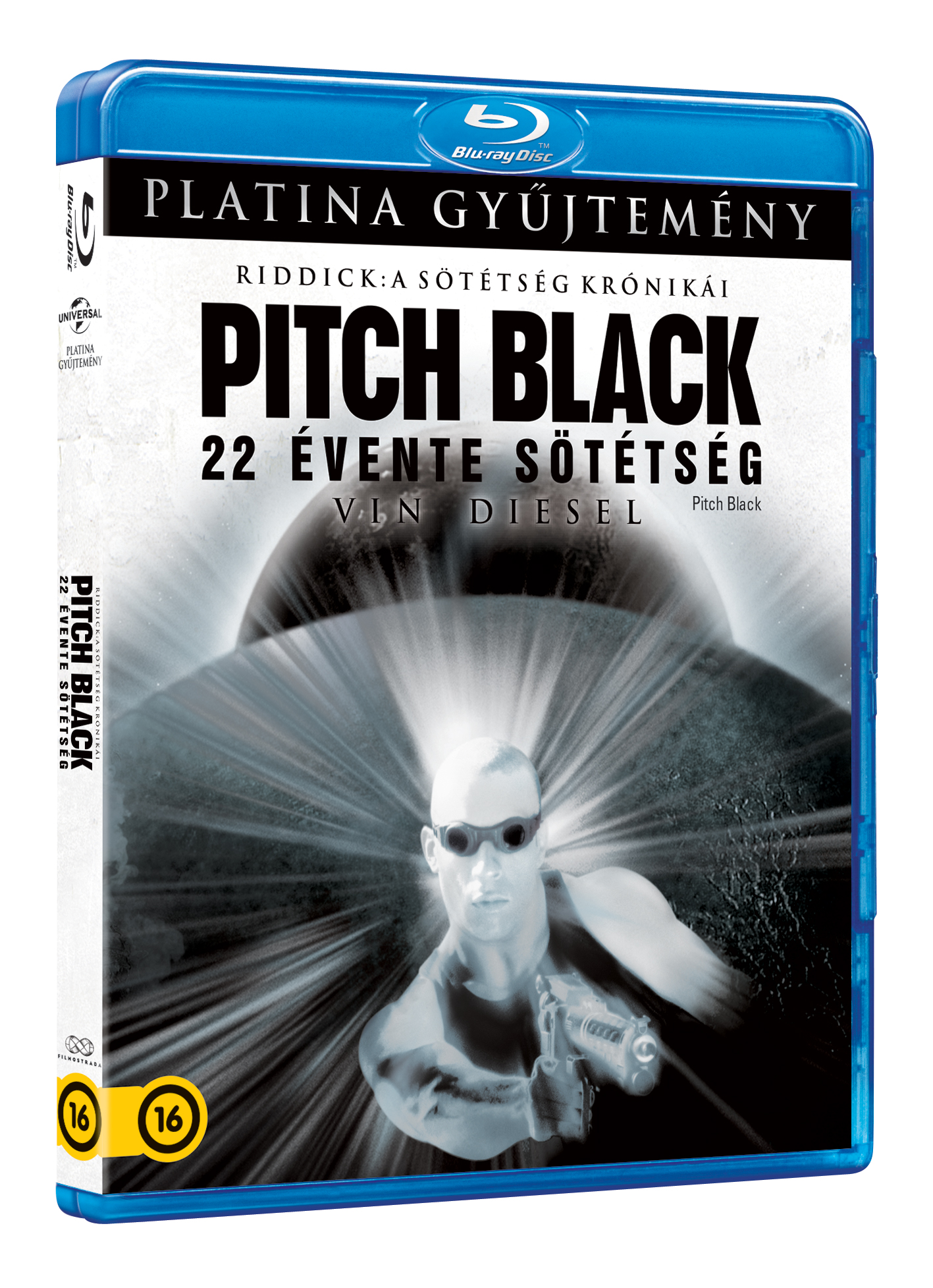 Pitch Black - 22 évente sötétség - Blu-ray