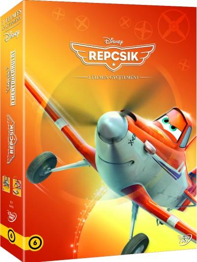 Repcsik díszdoboz (2015) - DVD