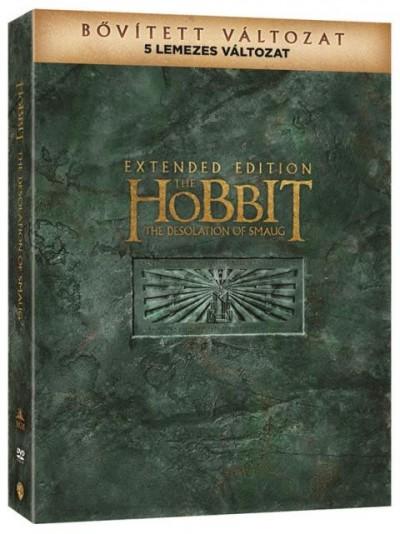 A hobbit: Smaug pusztasága - Bővített Kiadás - DVD