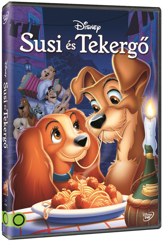 Susi és Tekergő - DVD