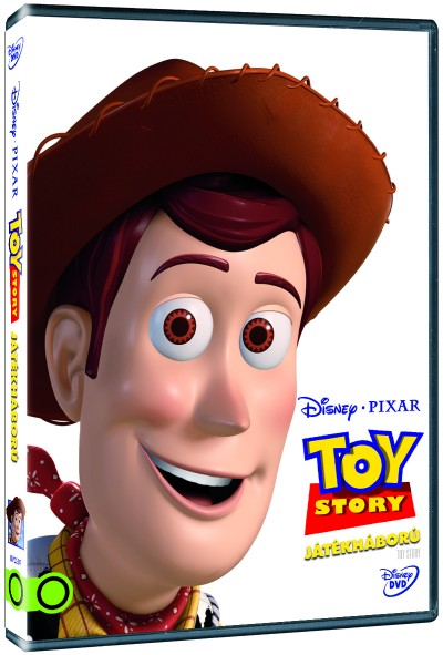 Toy Story - Játékháború - DVD