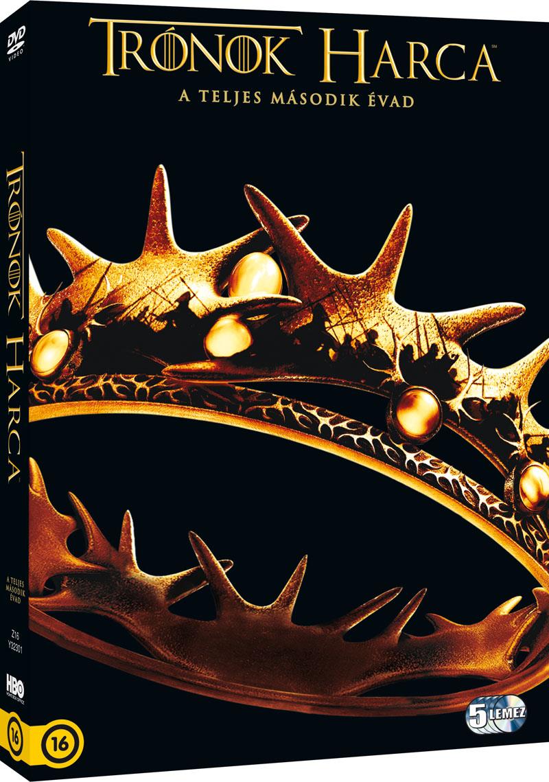Trónok harca - 2. évad - DVD