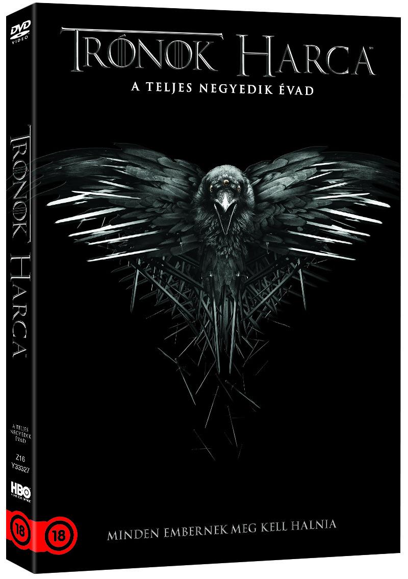 Trónok harca - 4. évad - DVD