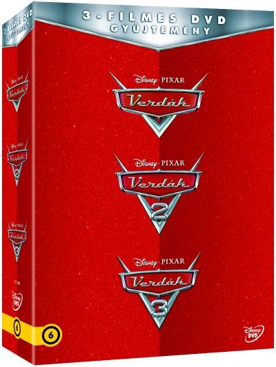 Verdák - 3 filmes gyűjtemény - DVD