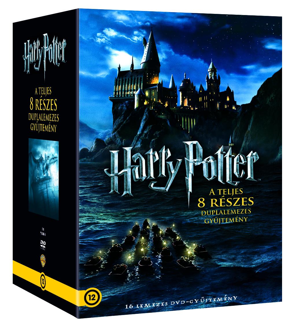 Harry Potter 1-8 - két lemezes gyűjtemény DVD