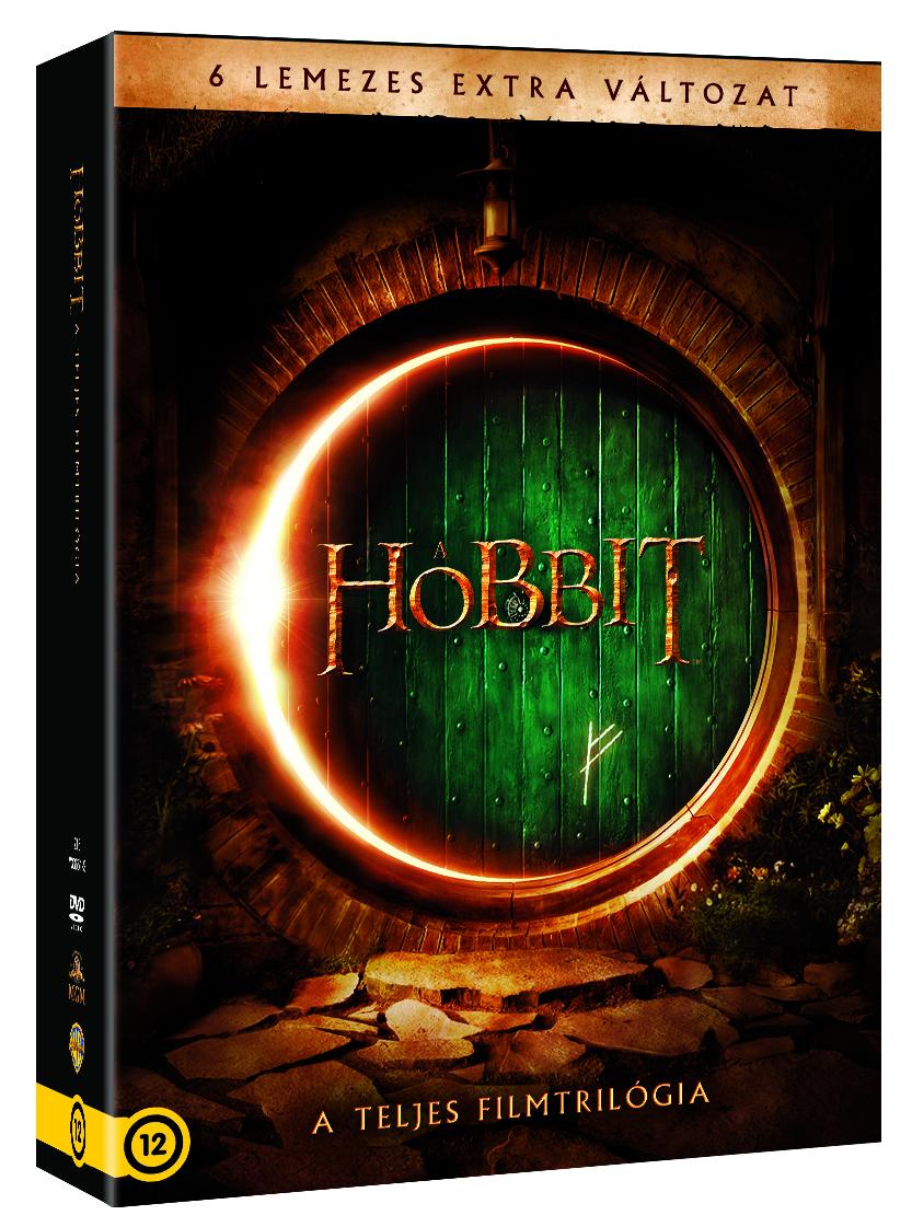 A hobbit 1-3 - 2 lemezes gyűjtemény 6 DVD
