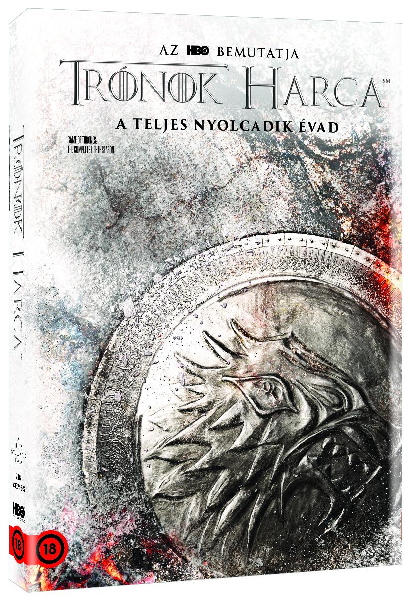 Trónok harca 8. évad - Stark O-ring - DVD