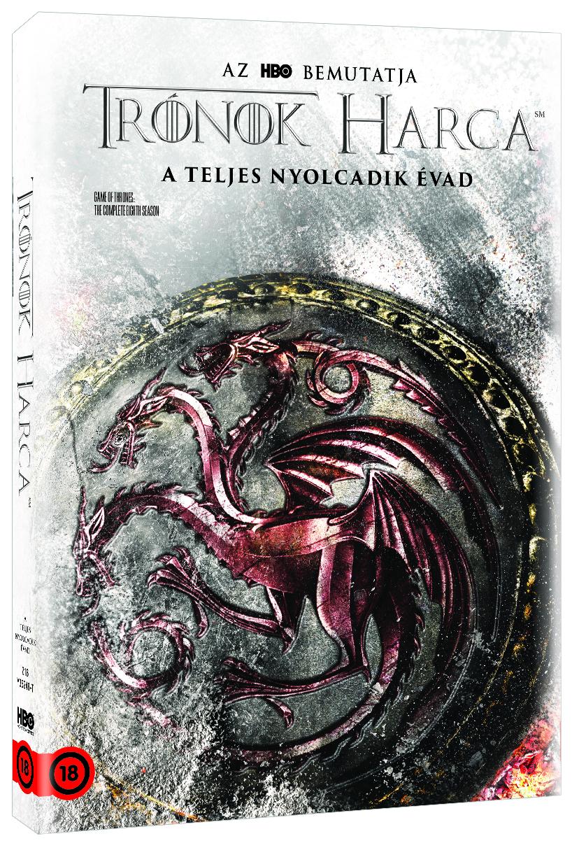 Trónok harca 8. évad - Targeryen O-ring - DVD