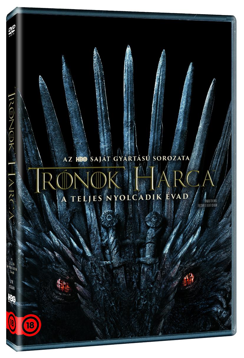 Trónok harca 8. évad - DVD