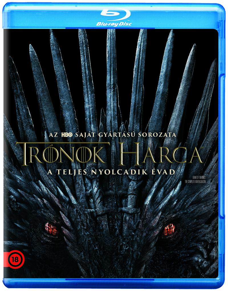 Trónok harca 8. évad - Blu-ray