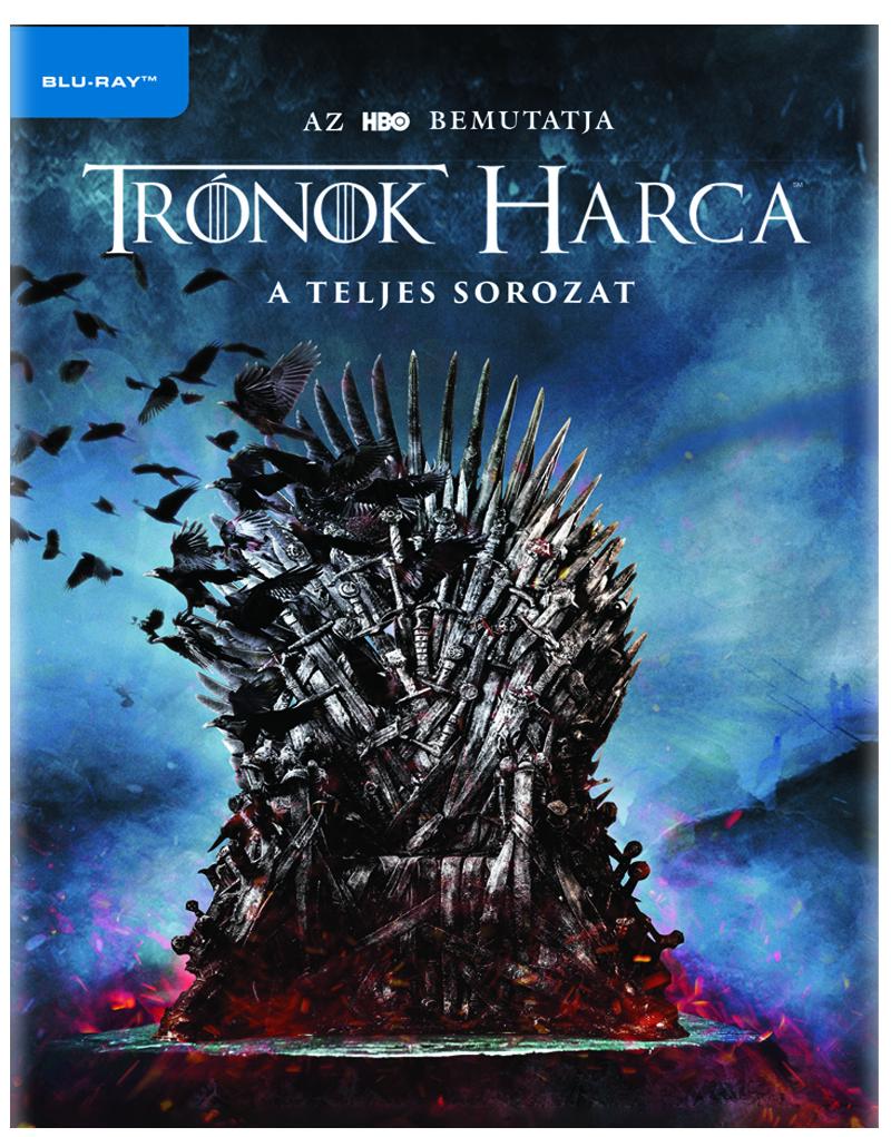 Trónok harca 1-8. évad - Blu-ray