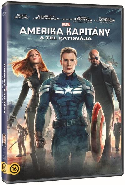 Amerika Kapitány - A tél katonája - DVD