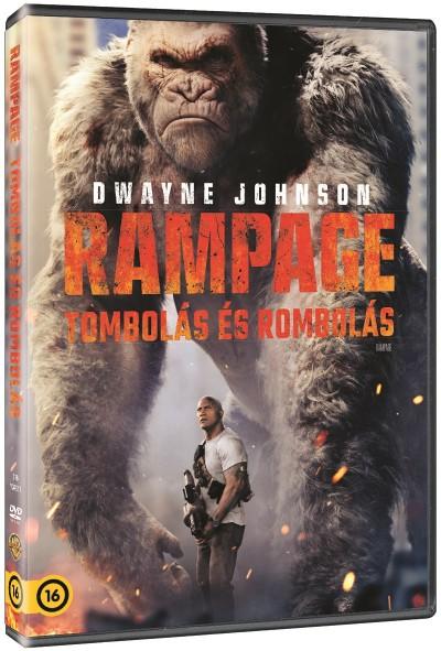 Rampage: Tombolás és rombolás - DVD