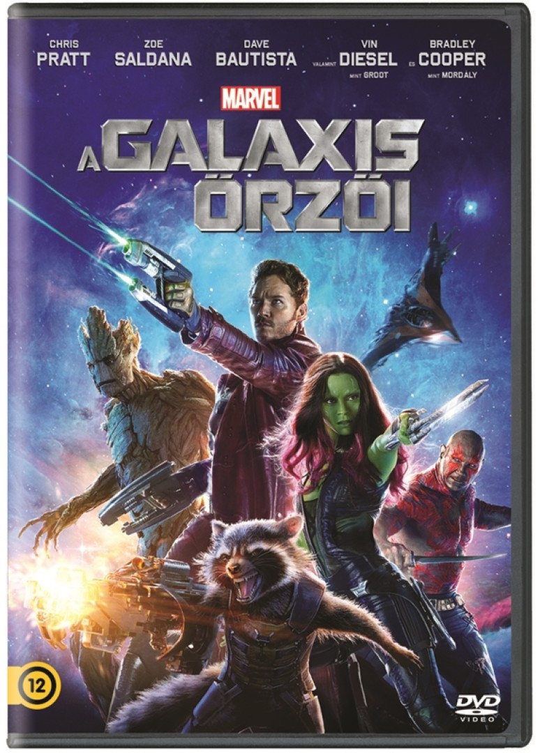 A galaxis őrzői - DVD