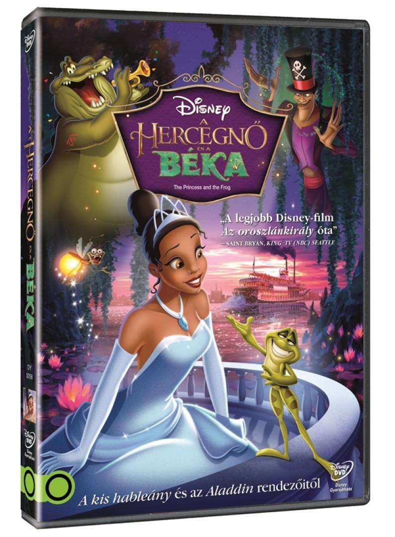 A Hercegnő és a béka - DVD