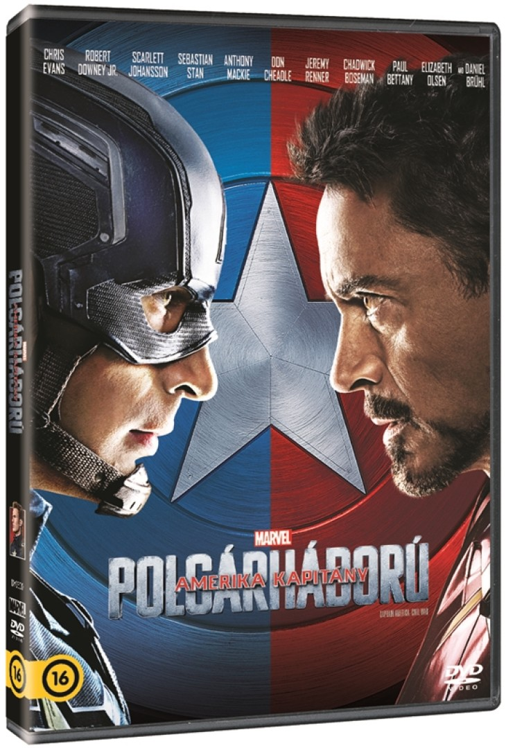 Amerika kapitány - Polgárháború - DVD -  pdf epub