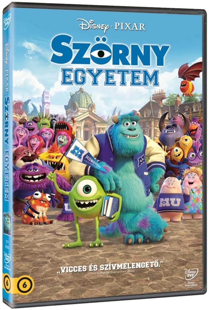 Szörny Egyetem - DVD
