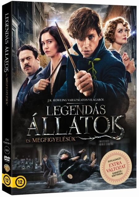 Legendás állatok - 2 lemezes + karakterkártya - DVD
