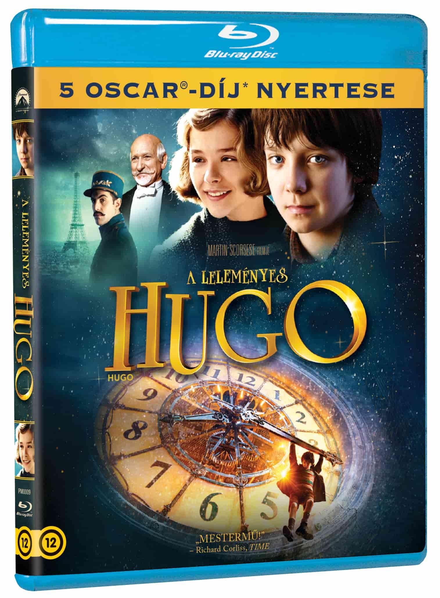A leleményes Hugo - Blu-ray