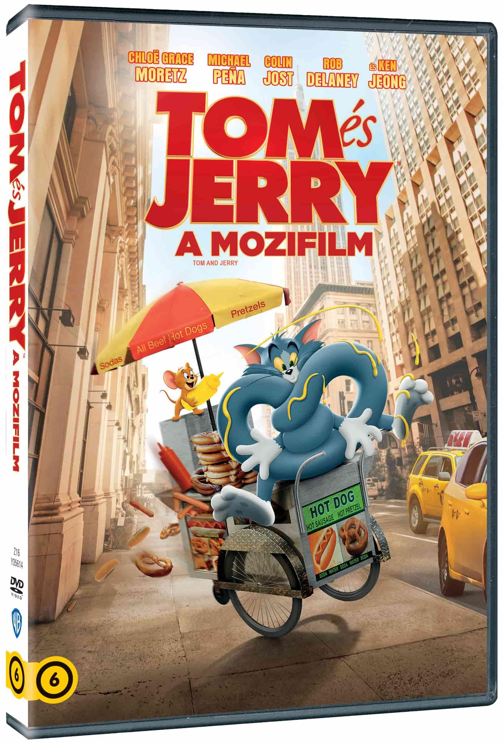 Tom és Jerry (2021) - DVD