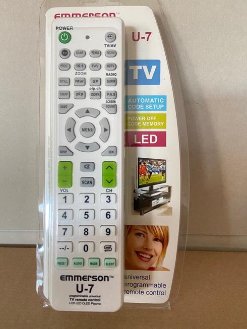 Emmerson Univerzális távirányító TV, U-7