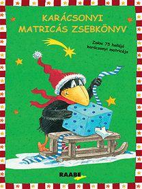 Karácsonyi matricás zsebkönyv - Annet Rudolph |