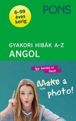 PONS Gyakori hibák - Angol A-Z - 6-99 éves korig