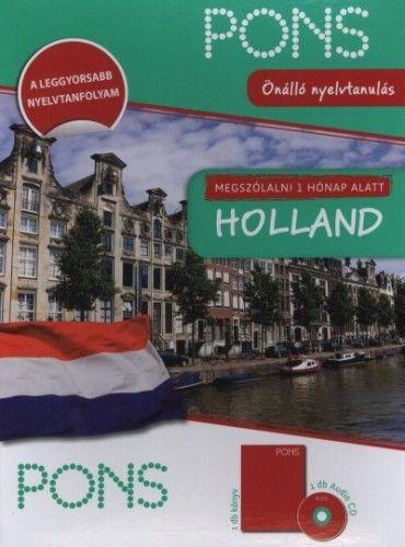 PONS Megszólalni 1 hónap alatt - Holland - Könyv + Audio CD