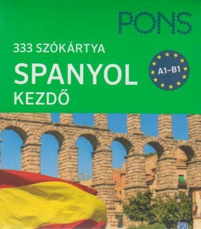PONS Szókártyák spanyol nyelvből - 333 szó - spanyol kezdőcsomag