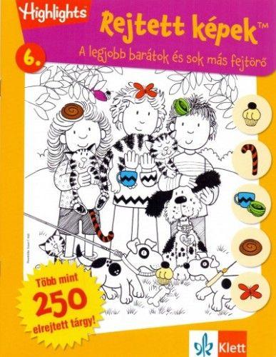 Rejtett képek 6. - A legjobb barátok és sok más fejtörő - Kovács Mónika pdf epub