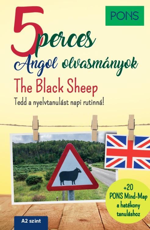 PONS 5 perces angol olvasmányok The Black Sheep