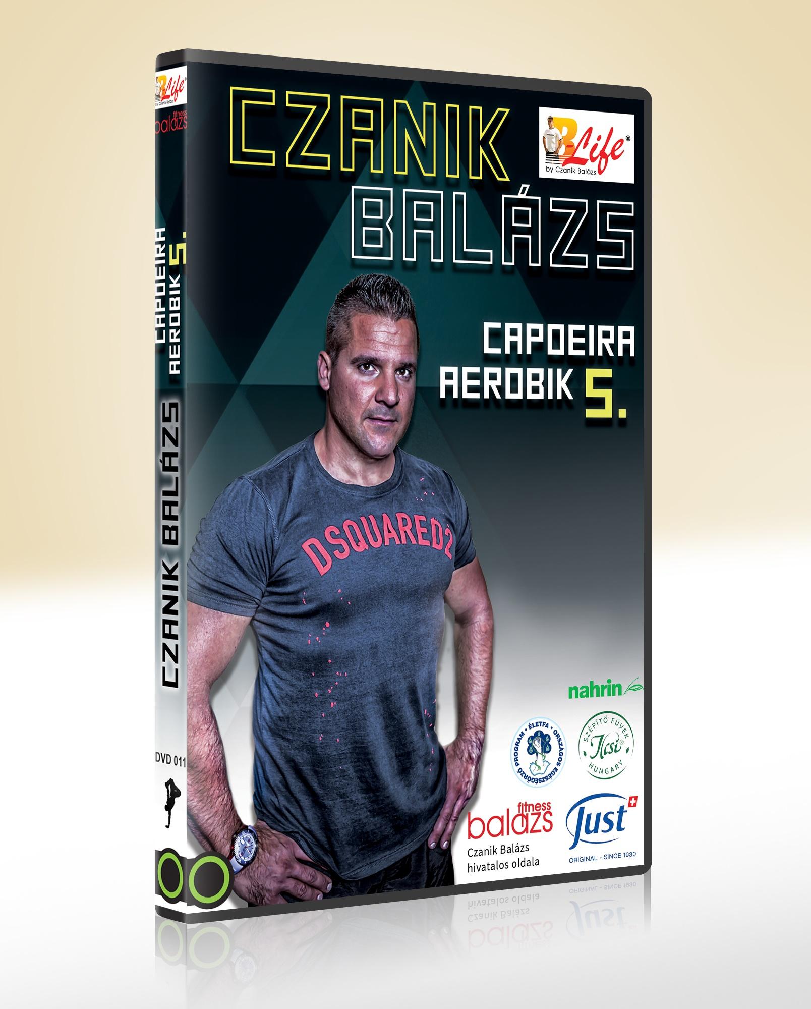Capoeira aerobik 5. - DVD