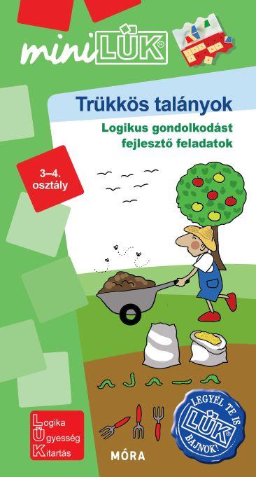 Trükkös talányok - Logikus gondolkodást fejlesztő feladatok - 3-4.osztály