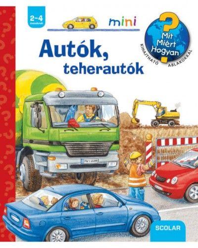 Autók, teherautók - Ursula Weller |