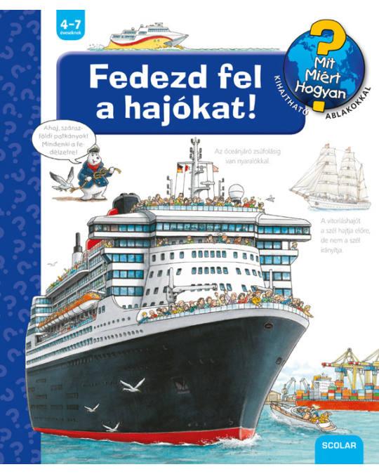 Fedezd fel a hajókat! - Susanne Gernhäuser |