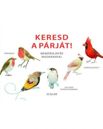 Keresd a párját! – Memóriajáték madarakkal -  pdf epub