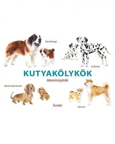 Kutyakölykök - Memóriajáték -  pdf epub