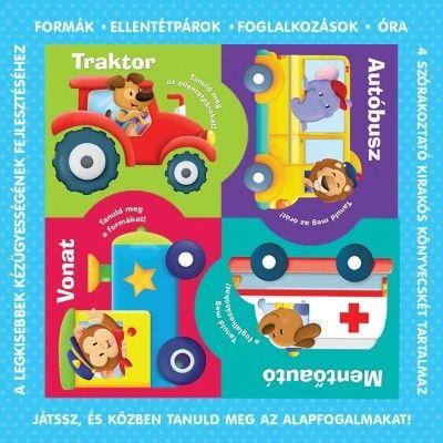 Puzzle-könyvek - formák, ellentétpárok, foglalkozások, óra