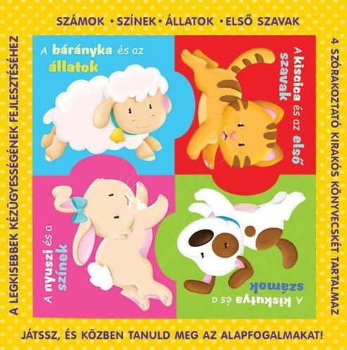 Puzzle-könyvek - számok, színek, állatok, első szavak