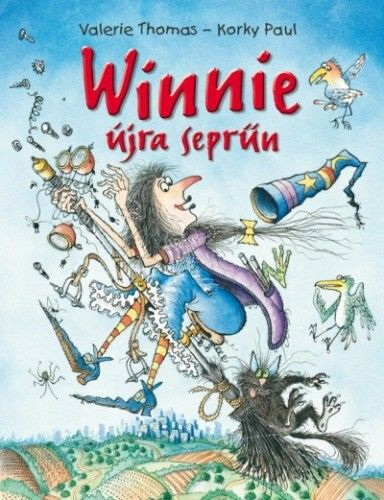 Winnie újra seprűn - Korky Paul pdf epub