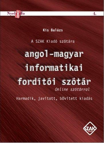 Angol-magyar informatikai fordítói szótár