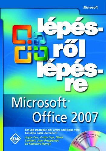 Microsoft office 2007 lépésről lépésre - Cd melléklettel