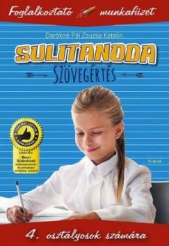 Sulitanoda - 4.osztályosok számára - Szövegértés - Foglalkoztató munkafüzet