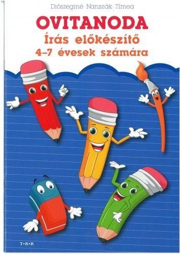 Ovitanoda - Írás előkészítő 4-7 évesek számára - Diószeginé Nanszák Tímea pdf epub