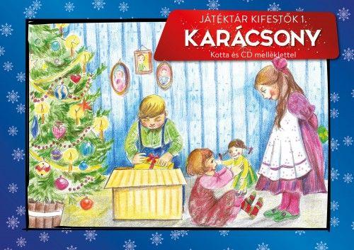 Játéktár kifestők 1. - Karácsony -  pdf epub
