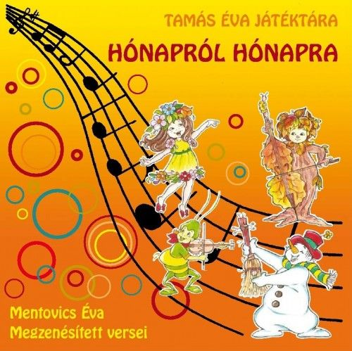 Hídvégi Nóra - Hónapról hónapra (CD)